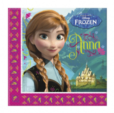 20 Disney Frozen Paper Party Napkins
